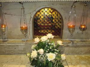 Пещера в которой молился святитель Николай. г. Бейт-Джала